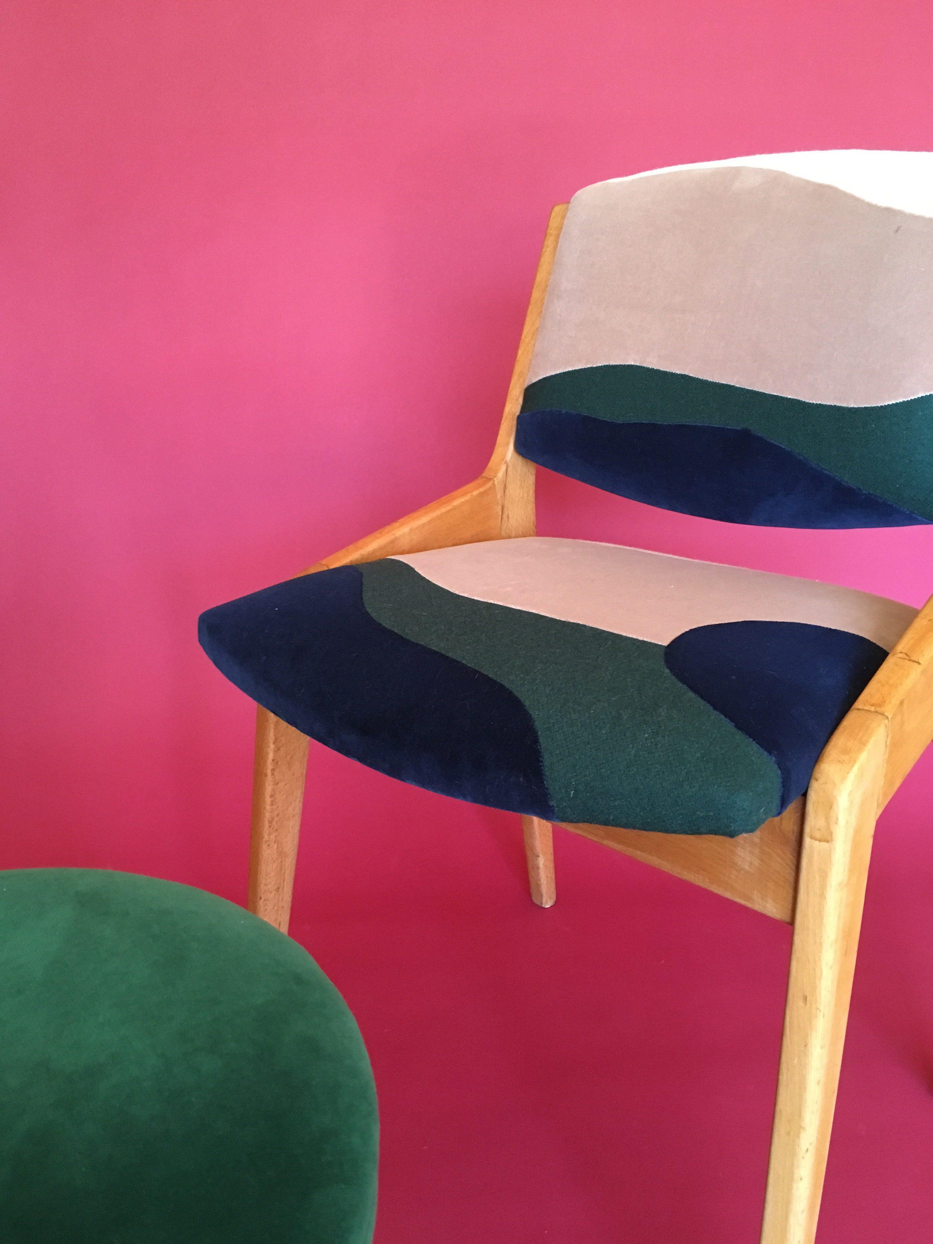 Sonia Laudet, tapissier designer à Bayonne, site en construction