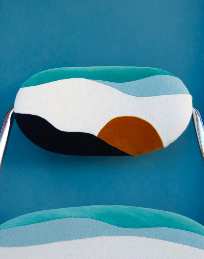 Fauteuil Banquise by Sonia Laudet, Tapissier Designer