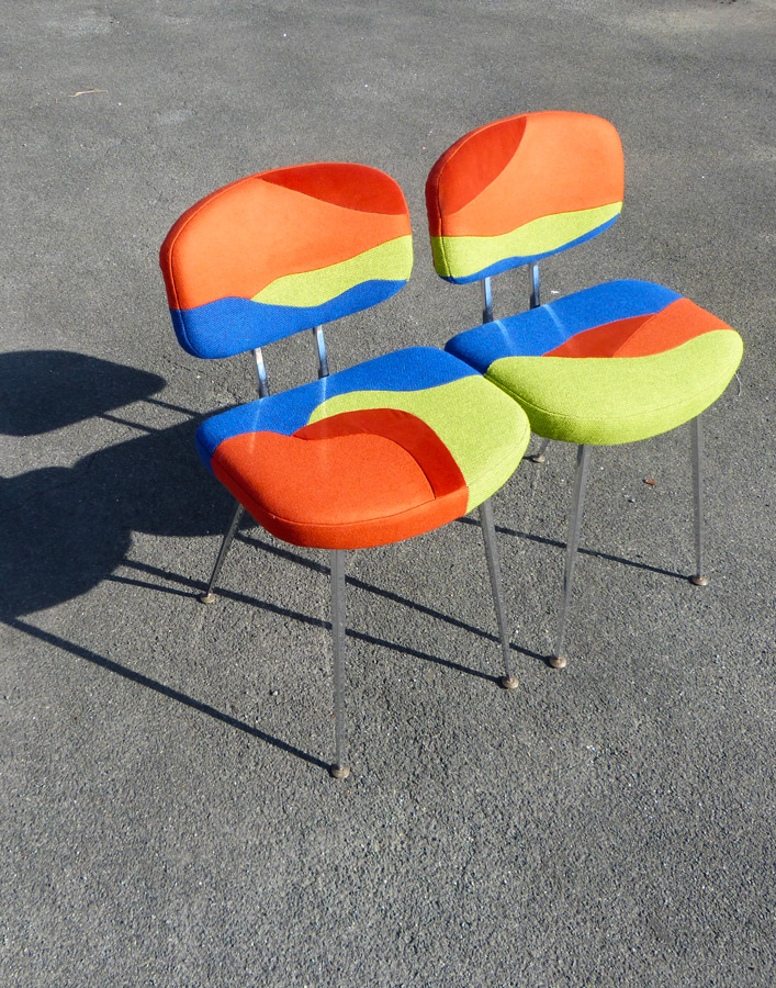 Eldorado seats by Sonia Laudet, Tapissier Designer, Bayonne, France