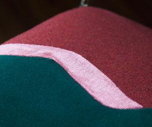 Chaise glamour velvet Twin Peaks