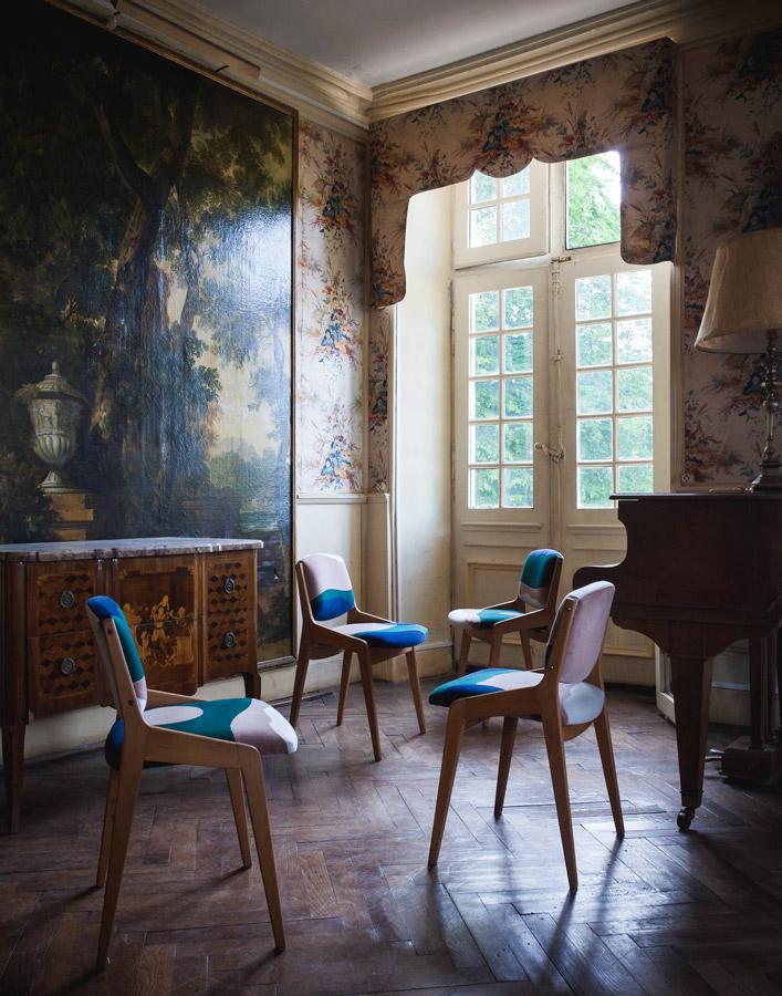 Sonia Laudet, tapissier designer à Bayonne, France