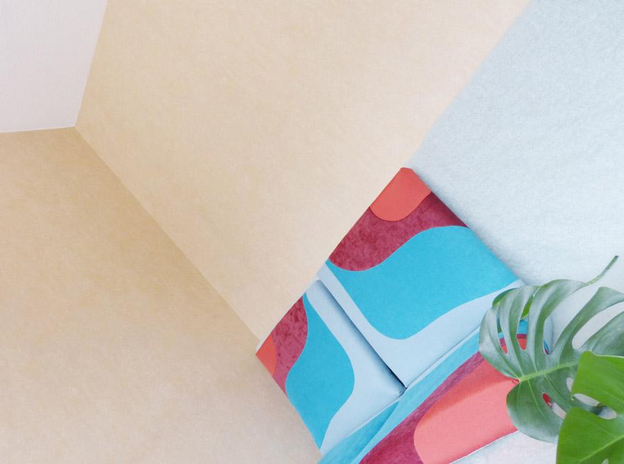 Banquette 60s by Sonia Laudet, Tapissier Designer, sur mesure