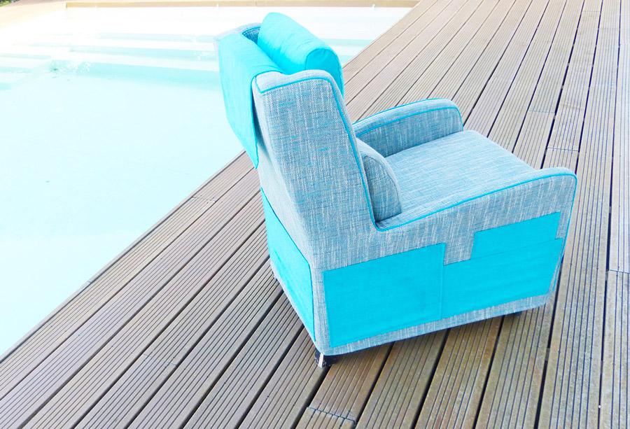 Restauration et réfection de chaises et fauteuils, Sonia Laudet, Tapissier Designer à Bayonne, France