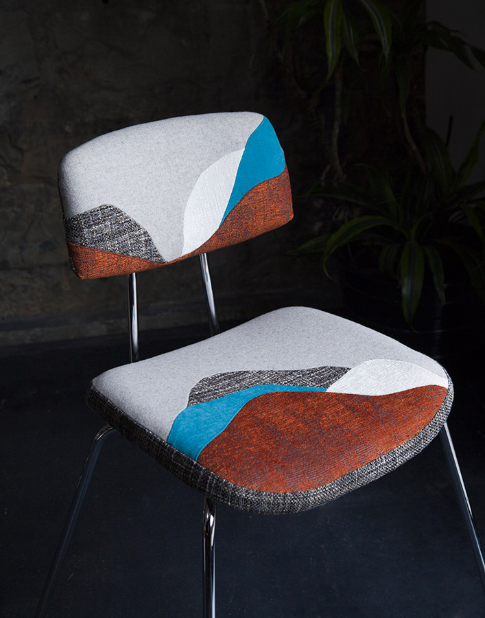 Chute Libre seats by Sonia Laudet, Tapissier Designer, Bayonne, France