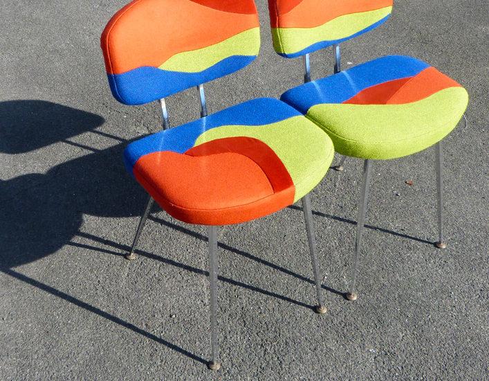 Eldorado seats - Sonia Laudet, Artiste textile mobilier à Bayonne, France