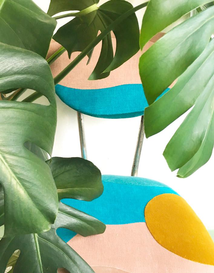 Chaise Equateur by Sonia Laudet, Tapissier Designer