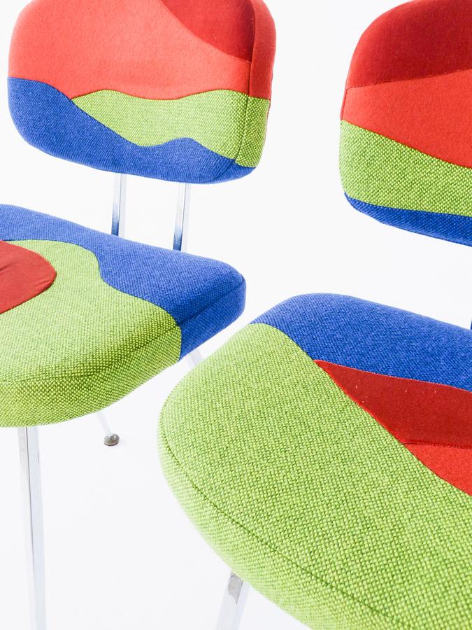 Chaises Eldorado par Sonia Laudet, Tapissier Designer à Bayonne, France