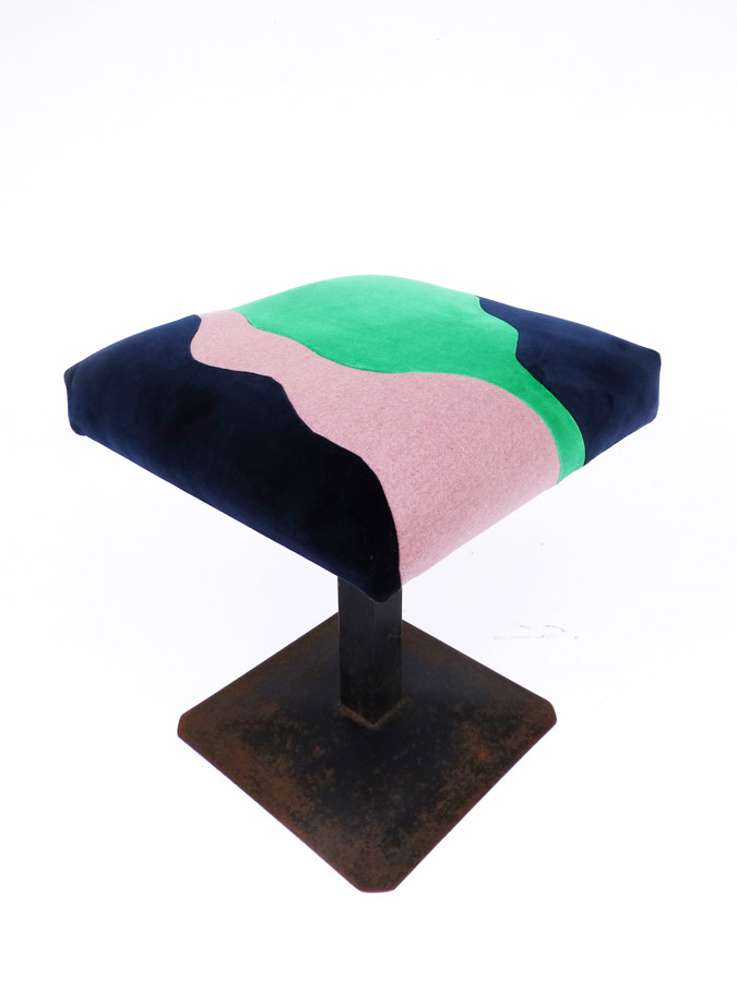 Tabouret Cocagne, Landscapes collection par Sonia Laudet designer