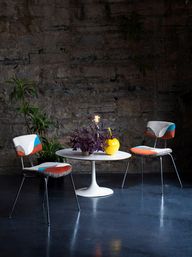 Chute Libre seats - Sonia Laudet, Artiste textile mobilier à Bayonne, France