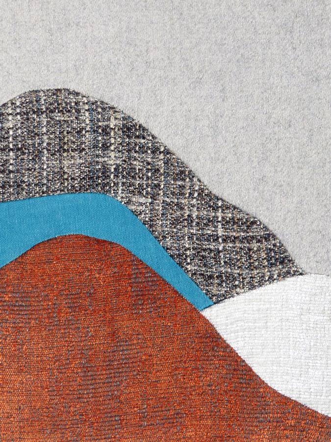 Chaise Chute Libre (pattern) par Sonia Laudet, Tapissier Designer à Bayonne, France