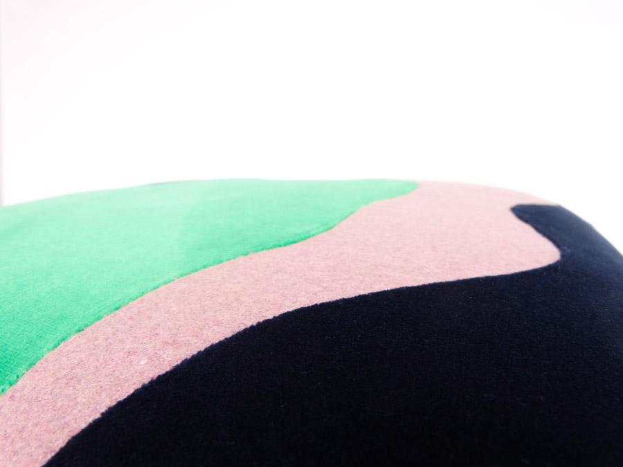 Tabouret Cocagne by Sonia Laudet, Tapissier Designer