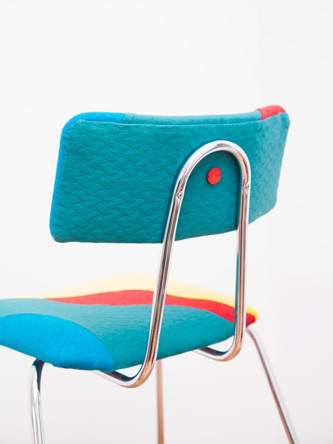 Chaise Plage - Sonia Laudet, Artiste textile mobilier à Bayonne, France