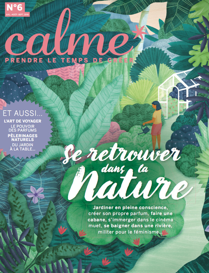 Presse Sonia Laudet - Calme magazine, été 2018