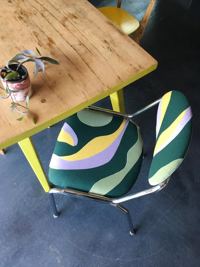 Sonia Laudet, Artiste textile mobilier à Bayonne, France