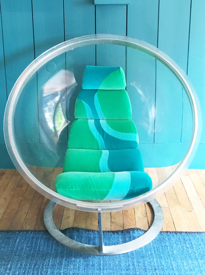 Sonia Laudet, tapissier designer à Bayonne, France, Bulle kiki