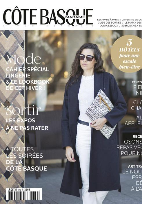 Côte Basque Magazine - Sélection shopping déco - Hiver 2018