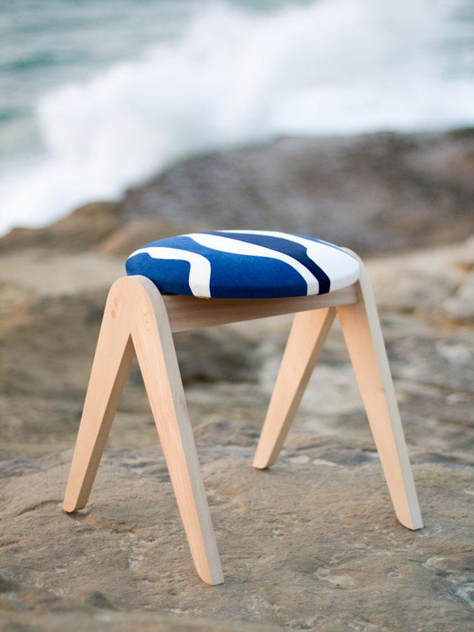 Sonia Laudet, Artiste textile mobilier