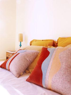 coussins design Sonia Laudet décoration