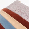 cushion rouille bleu ciel velours sonia laudet design décoration textile