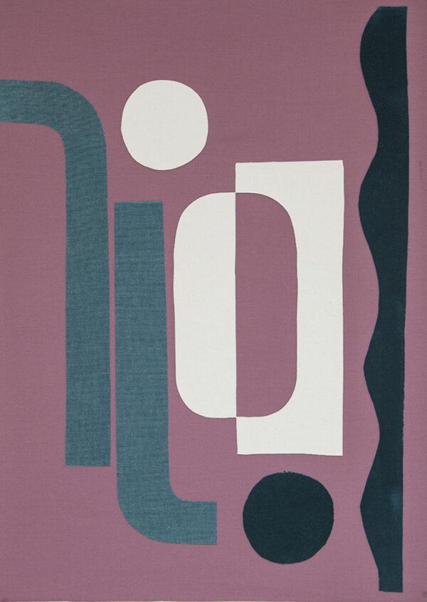 collage art textile sonia laudet