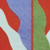 lune rose collage art textile sonia laudet