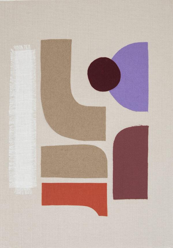 collage textile art sonia laudet