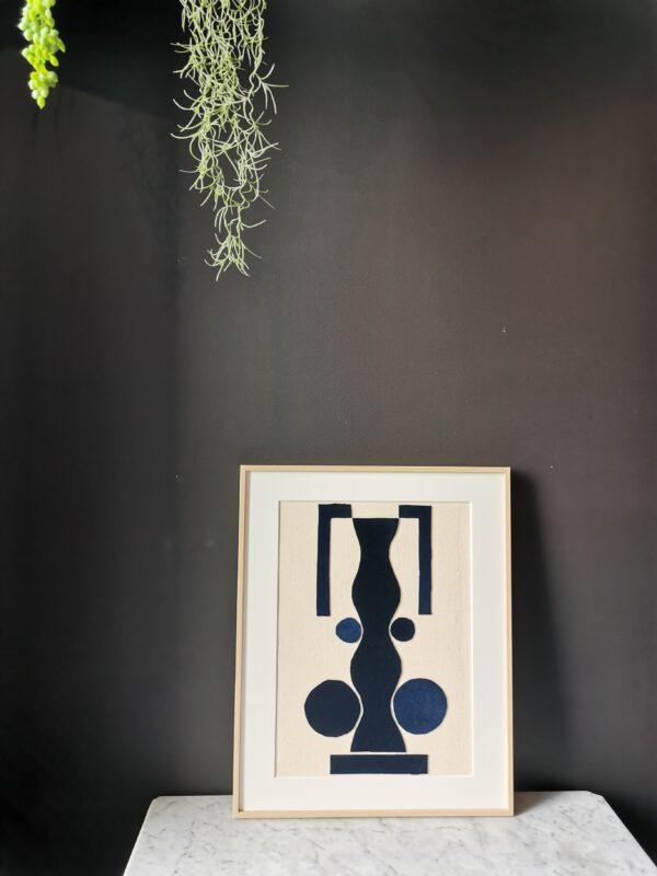 blue velvet art collage sonia laudet