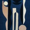 collage art sonia laudet night blue